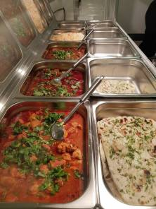 Selection of Curries